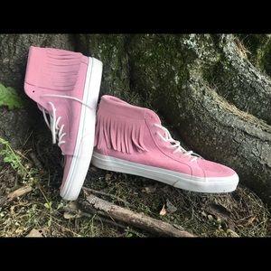 Pink SK8-Hi Vans